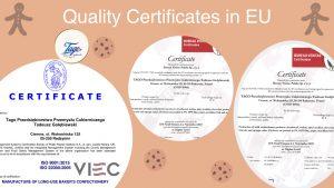 200615 Quality Certificates Tago