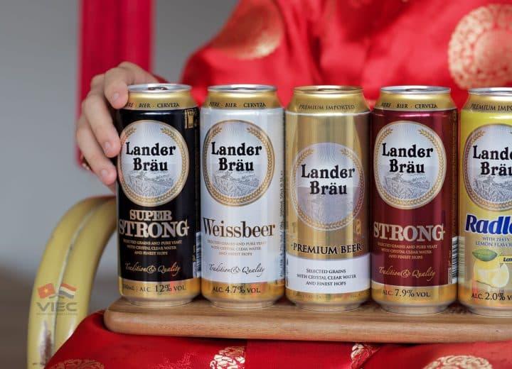 Bia nhập khẩu từ Hà Lan Landerbrau tại Việt Nam